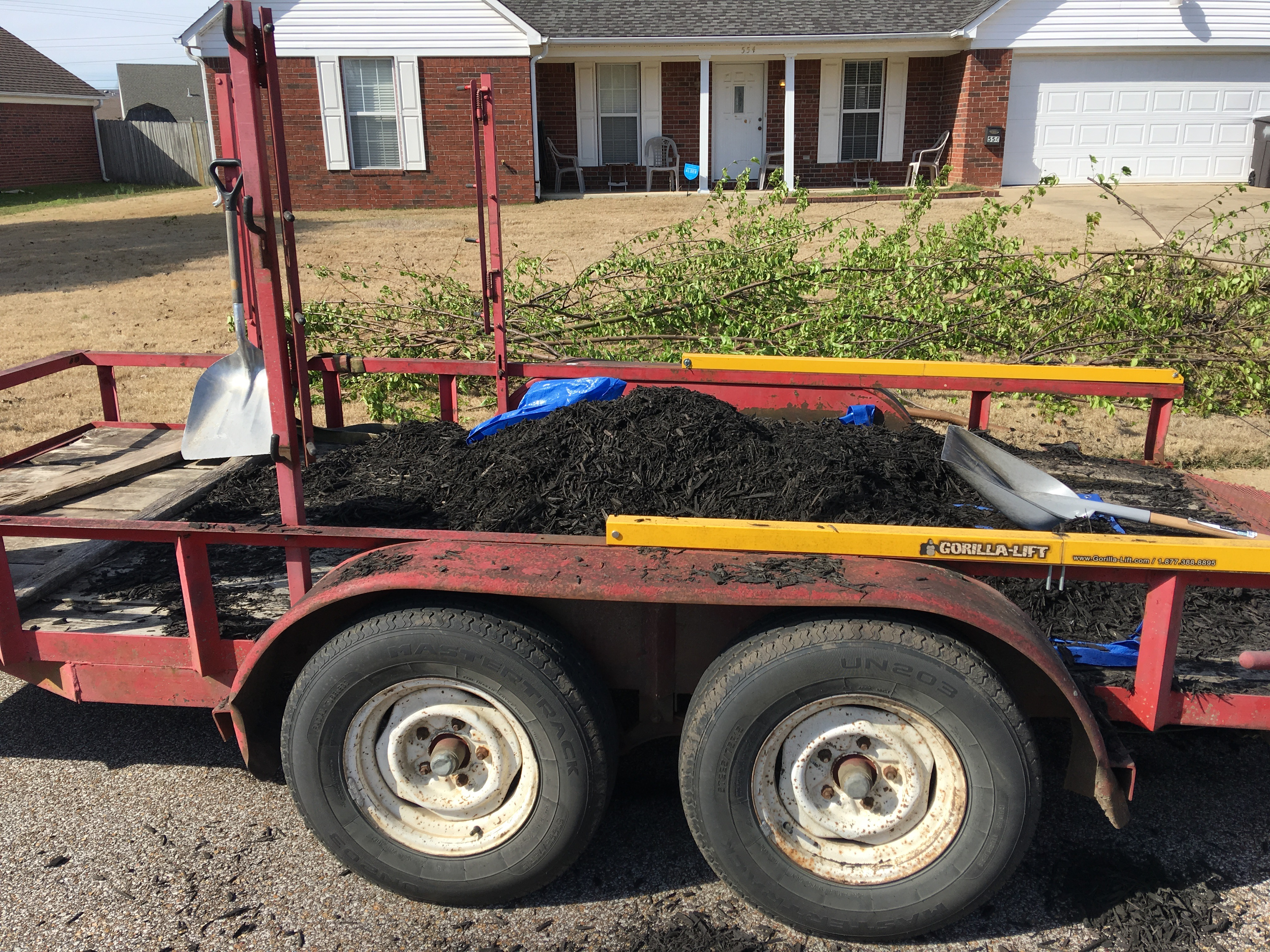 Spring Cleanup 2017 Brooks Lawn Service Llc